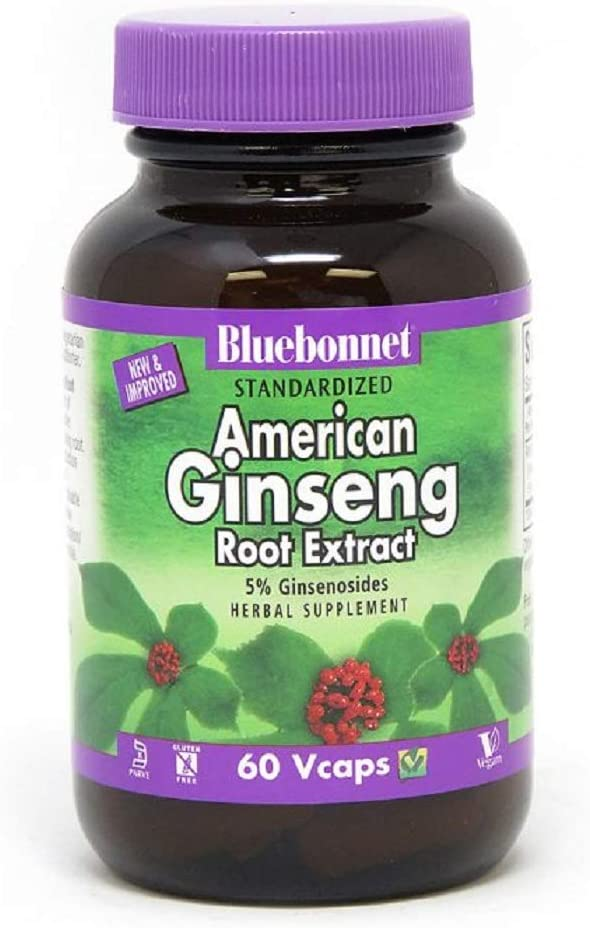 BLUEBONNET Nutrition STANDARDIZED American Ginseng Root Extract