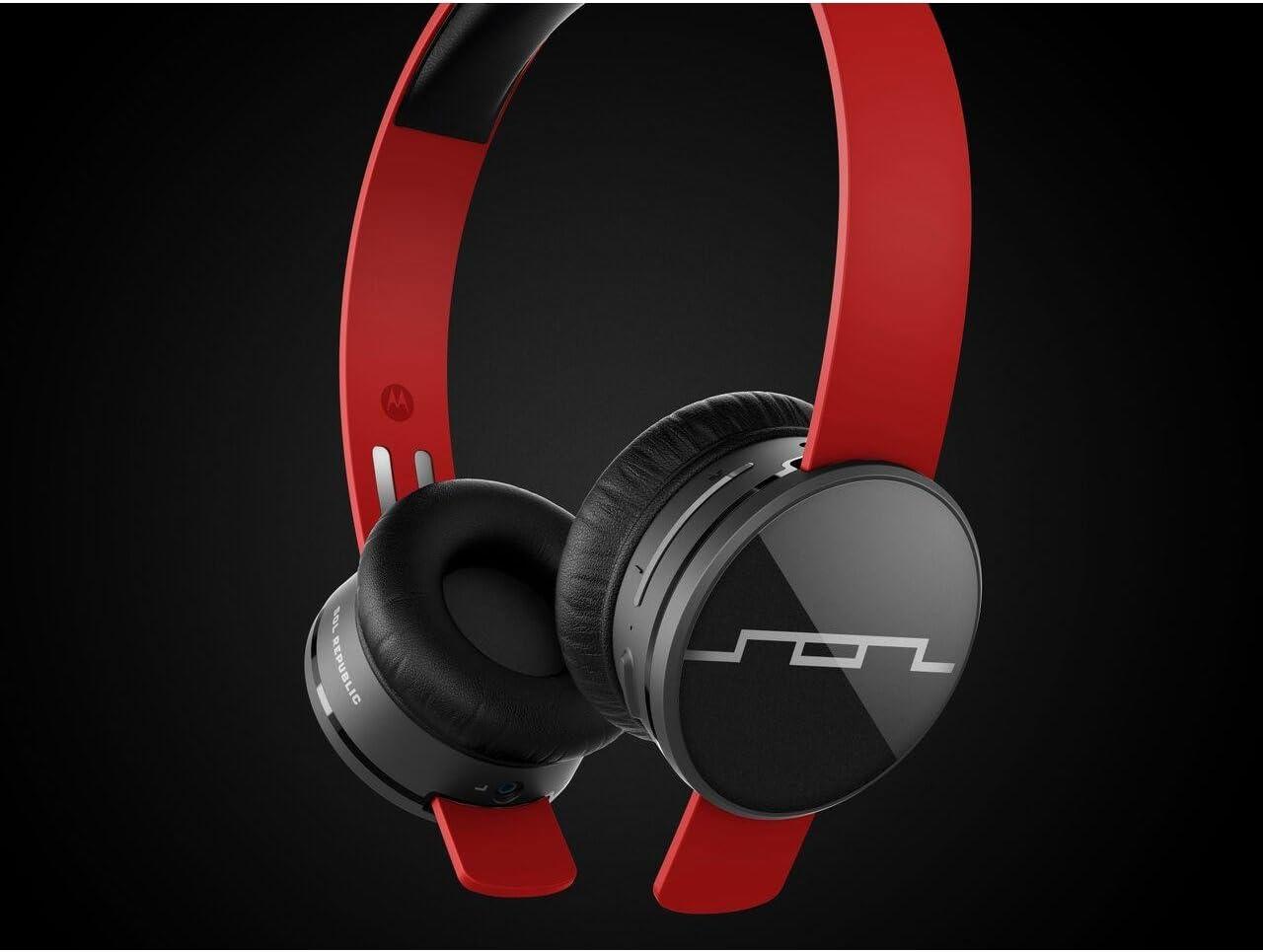 Sol Republic Tracks Air Wireless On-Ear Headphones (Vivid Red)