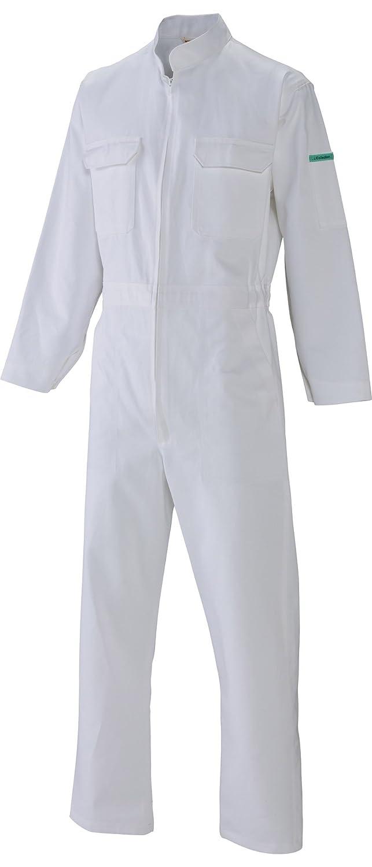 [サンディスク]SUN DISK【ツナギ服】通年 国内染色 オールシーズン 綿100% ホワイト続服《044-710》 B01EZ7XCGW 5L|710-ホワイト 710-ホワイト 5L
