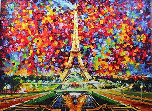 Paris of My Dreams (30 x 40) - Gallery (Paris Fine Art Print)