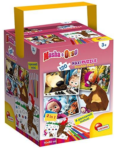 8 opinioni per Lisciani 51656- Masha e Orso Puzzle Fustino Maxi, 120 Pezzi
