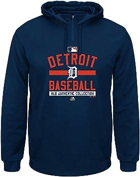 Size Girls 6-7 Years OId MLB Baseball Full Zip up Hoody Detroit Tigers New