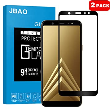 3 Pack Ultra Clear Bubble Free Screen Protector Film for Samsung Galaxy A6 2018 Bear Village Galaxy A6 2018 Premium Tempered Glass Screen Protector