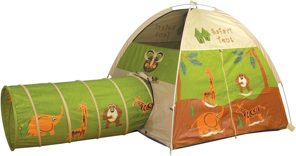 Pacific Play Tents Kids Safari Fun Dome Tent and Crawl Tunnel Combo for Indoor / Outdoor  sc 1 st  Amazon.com & Amazon.com: Play Tents u0026 Tunnels: Toys u0026 Games: Play Tents Play ...