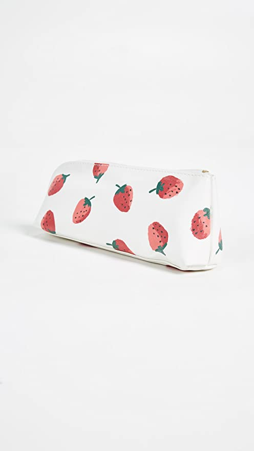 the latest 5828a edbfc Kate Spade New York Women's Strawberries Pencil Case, Red/Green/White, One  Size