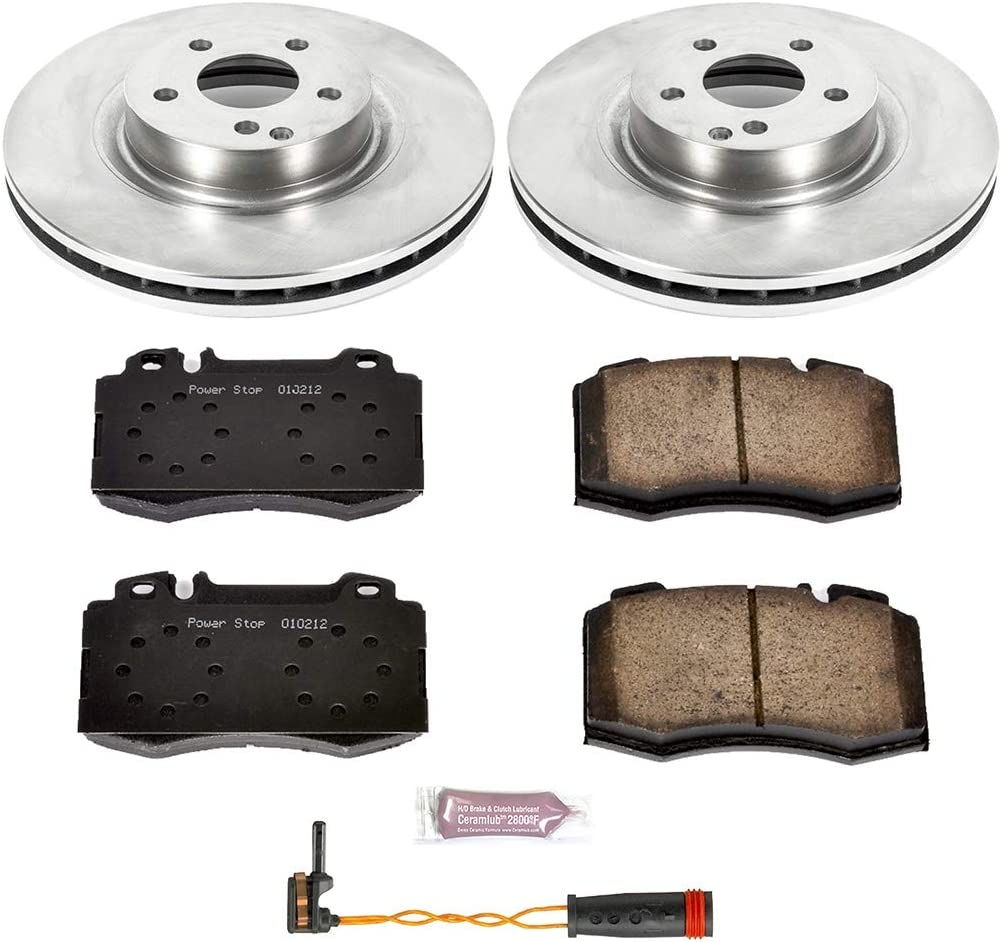 Autospecialty KOE6597 Daily Driver 1-Click OE Replacement Front Brake Kit