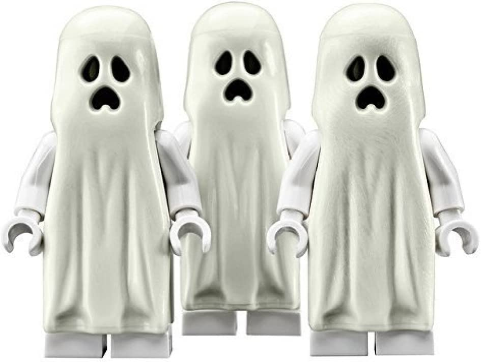 LEGO Ghost (Glow In The Dark) - 3 Pack Minifigures Monster Fighters