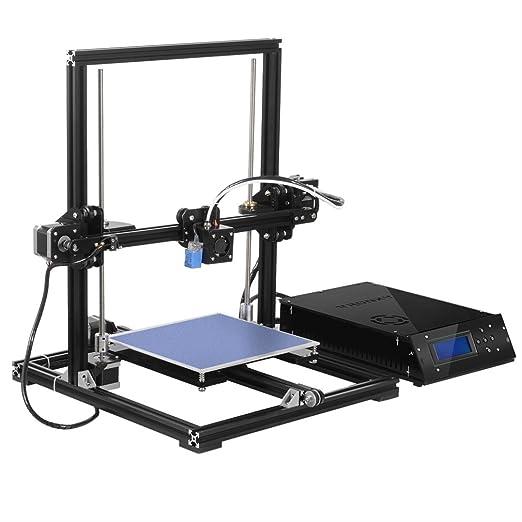 Tronxy X3 A Impresora 3D de alta precisión con estructura de aluminio, metal MK8. Nivelación automática. Boquilla. Kit de bricolaje 2004A Pantalla LCD. Tamaño de impresión: 220 x 220 x 300 mm: