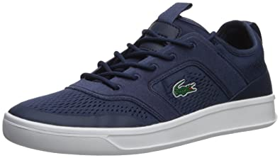 3715b72aa6489 Lacoste Men s Explorateur Sport Sneaker Navy 7 ...
