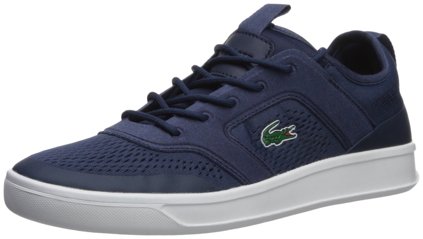 Lacoste Men's Explorateur Sport Sneaker, Navy, 9.5 M US