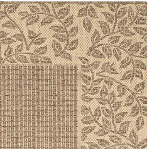 Safavieh summer brown natural indoor outdoor rug