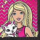 Barbie Beverage Napkins, 16ct