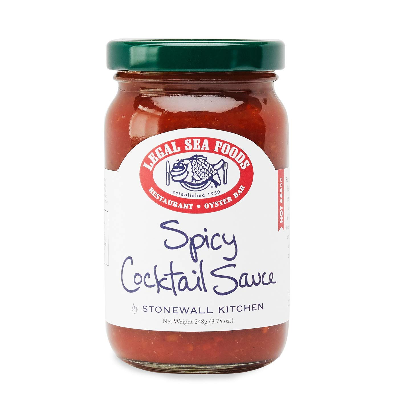 Legal Sea Foods Spicy Cocktail Sauce, 8.75 ounces
