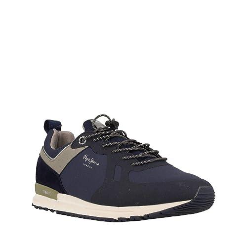 Pepe Jeans Tinker Pro-Bold, Zapatillas de Hombre: Amazon.es: Zapatos y complementos