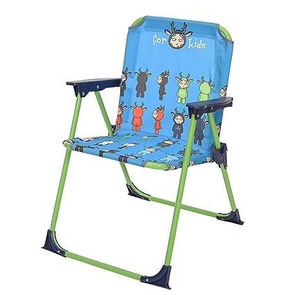 NEVY-Sillas de camping Para Niños Plegables Portátil ...