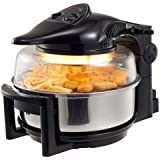 Superchef - Air Fryer Rotary Rotating Rotisserie Convection Oven 12L (Black)