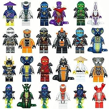Amazon.com: LEOG Toys Ninjago - Minifiguras de dragón con ...