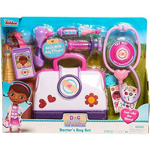 Disney Doc Mcstuffins Toy Hospital Doctor's Bag Set