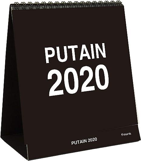 Fisura Calendario de Mesa, Oficina y Escritorio Puto 2020 12 ...