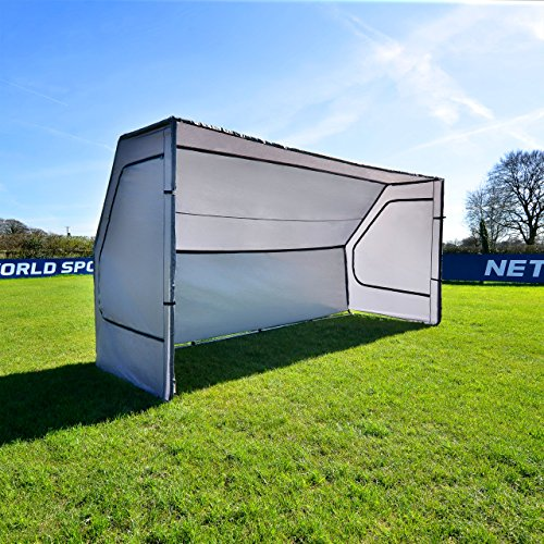 - Net World Sports Portable Soccer Team Shelter | Weatherproof Pop-Up Soccer Dugout - Soccer Game Day Equipment