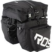 Bolso para bicicleta de montaña MTB 3en 1multifunción, alforja maletero para asiento trasero