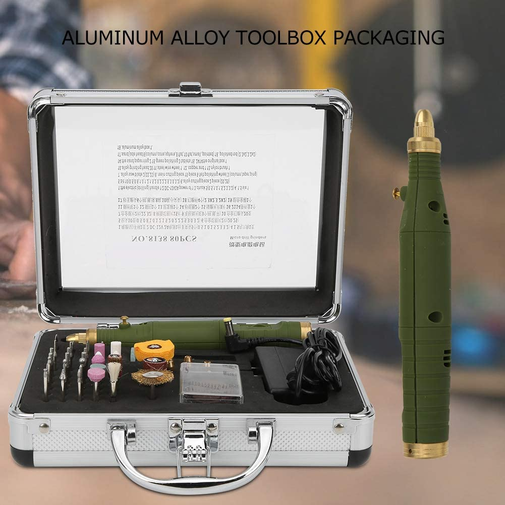 Eujgoov Cordless Rotary Tool Kit Mini Rotary Electric Grinder ...