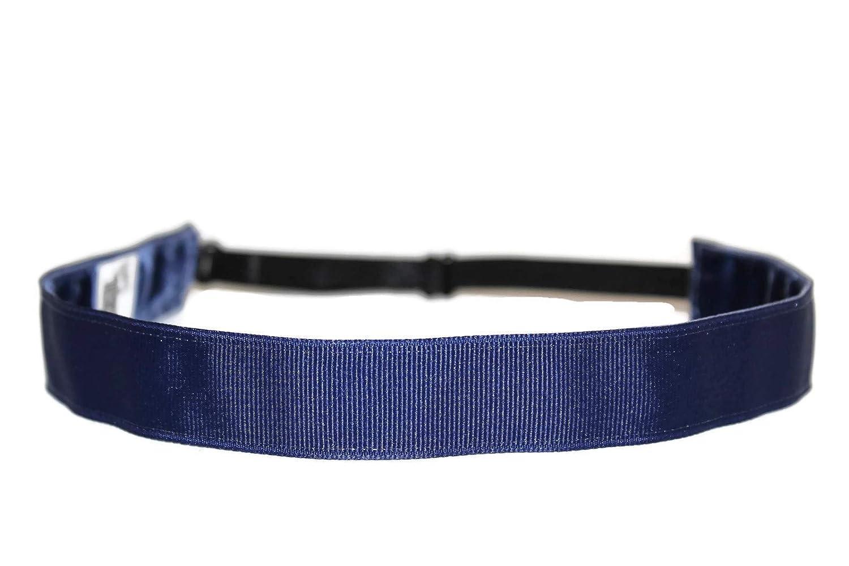 BEACHGIRL Bands Headband Non-Slip Adjustable Sports Hair Band For Women & Girls Navy Blue
