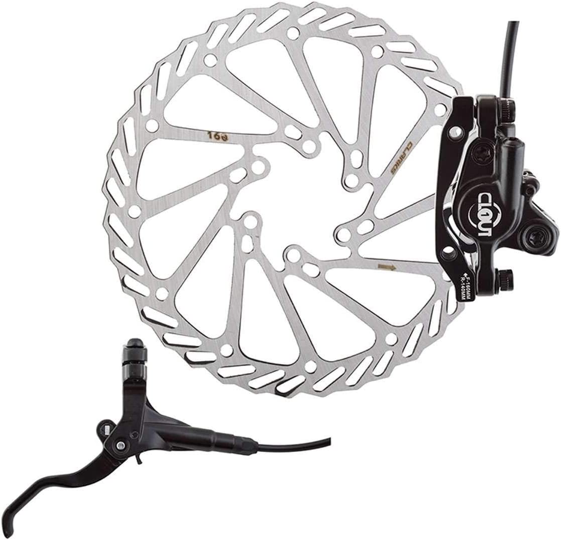 Clark/'s M2 Hydraulic Disc Brake With Lever 160 Black