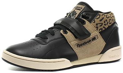 Reebok Classic Workout Mid Strap XE Mens Sneakers e1b9a397b