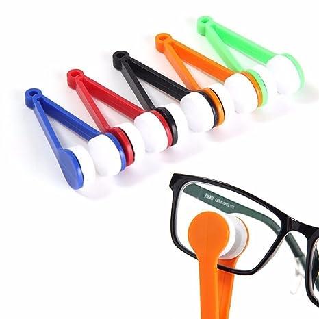 daorier Mini gafas de sol gafas de soporte para gafas, diseño de cuidado de limpieza