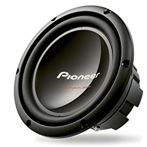 Pioneer TS W259S4- best 10 inch subwoofer