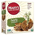 Mary's Gone Crackers Herb Crackers 6.5 oz (Pack of 3)