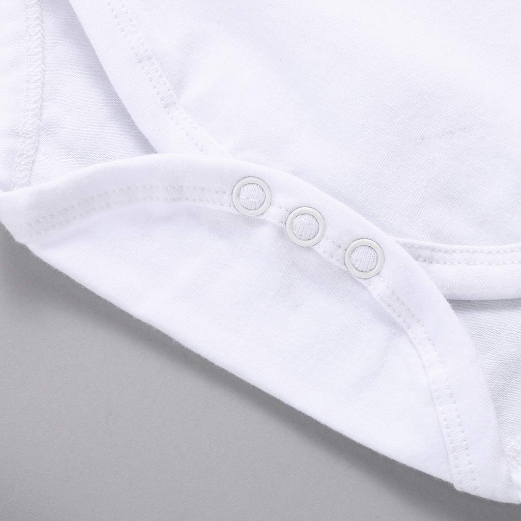 3Pcs Infant Kids Snuggle This Mugg Romper Shorts Headband Outfits Set MOLYHUA Toddler Girls Boys Clothes