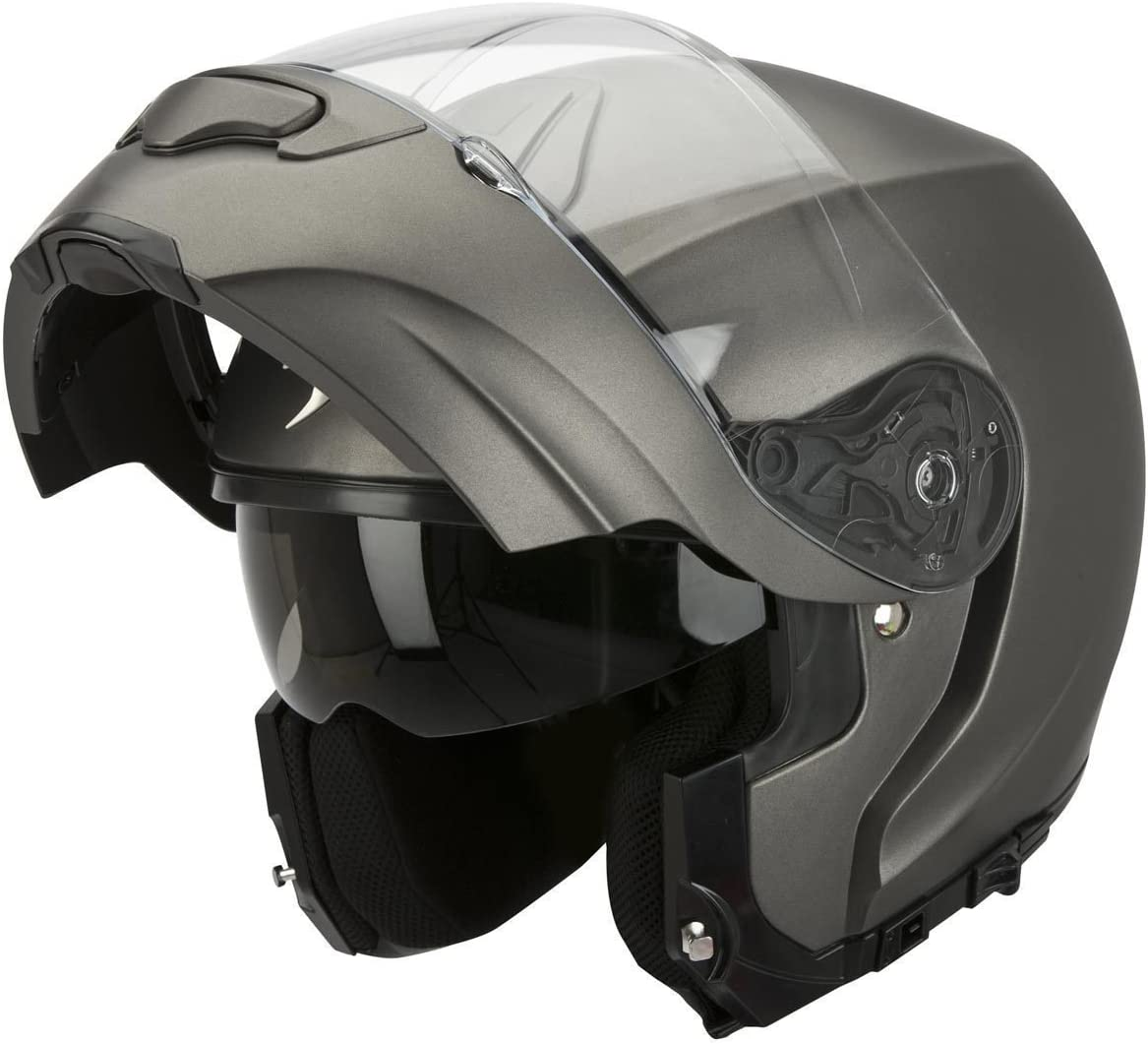 Scorpion Motorradhelm Aus Ultra Tct 63 64 Anthrazit Auto