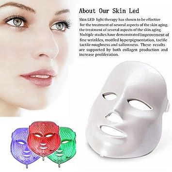 High Quality Face Light Mask Carer 3 Color Red Light Mask Facial Skin Rejuvenation  Beauty Home Use Skin