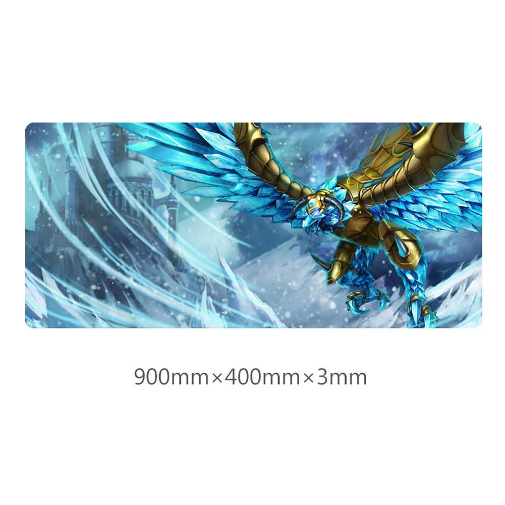 Tappetino per Mouse Grande da scrivania LOL Anivia The Cryophoenix 400 /× 900 /× 3 mm BEP