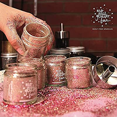 ECO GLITTER FUN - Kit de Brillo Surtido Biodegradable - Perfecto ...