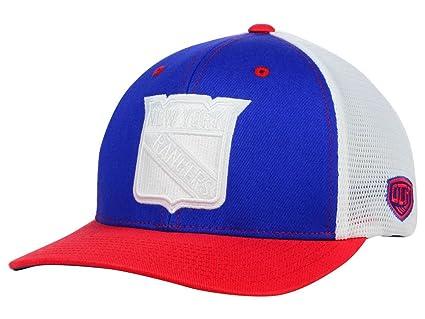 597073b37de Amazon.com  New York Rangers New NHL Charge Up Flex Flt Hat Cap ...
