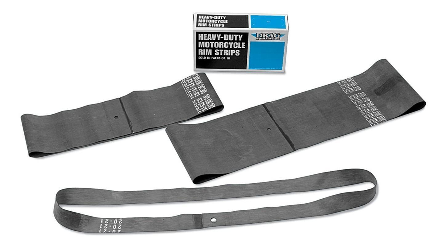 16in Drag Specialties Rim Strips x 2.25in Center Valve W17-6782CS