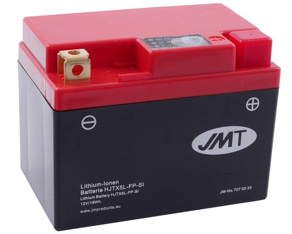 Batterie Lithium JMT HJTX5L-FP fü r KTM E/XC Racing 4-Stroke (Opt) 400 ccm Baujahr 00-02[ inkl.7.50 EUR Batteriepfand ]