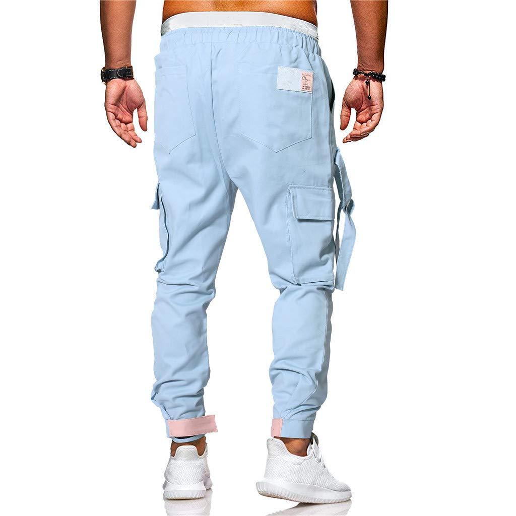 Karinao - Pantalones largos de chándal para hombre: Amazon.es ...