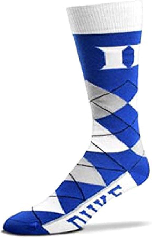 Duke Blue Devils Argyle Crew Dress Socks