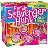 Kid's and Family Party Game - Scavenger Hunt - Family Scavenger Hunt in a Box - Indoor and Outdoor Fun for Kids and Adults Together