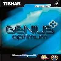 Tibhar Genius + Optimum Max Table Tennis Rubber(Black)