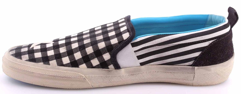 Sitio Oficial Barato Scarpe Sneakers Slip On Uomo GOLDEN GOOSE Seastar G24U637.A1 Black White Stripes Barato Con Paypal Comprar Barato Visa De Pago Salida Bajo Precio De Envío De Pago 3FP1MzzU