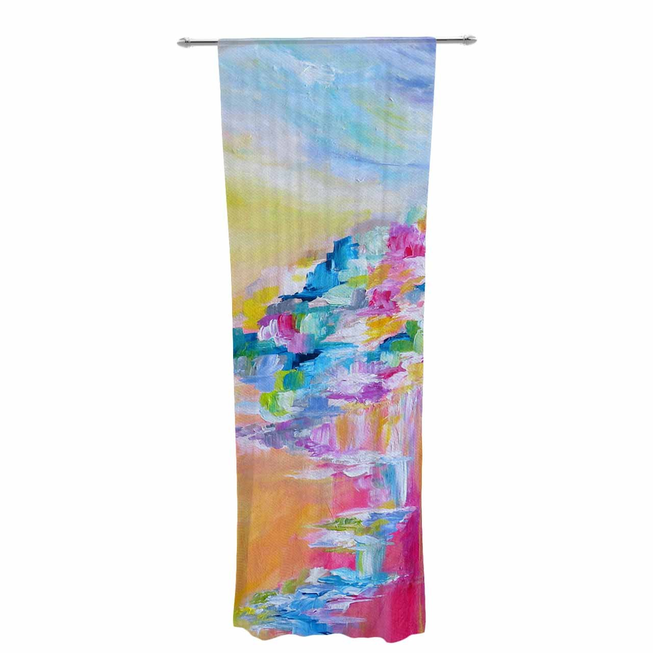 Kess InHouse Sheer Curtains EBI Emporium Something About The Sea 30' x 84'