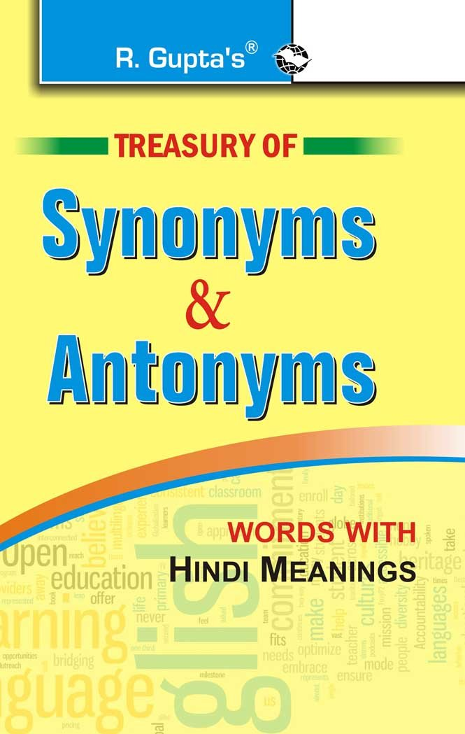 Buy Treasury Of Synonyms Antonyms Book Online At Low Prices In India