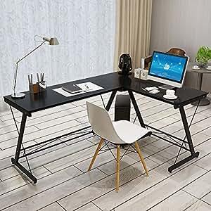 Amazon Com Soges L Shaped Desk Computer Desk