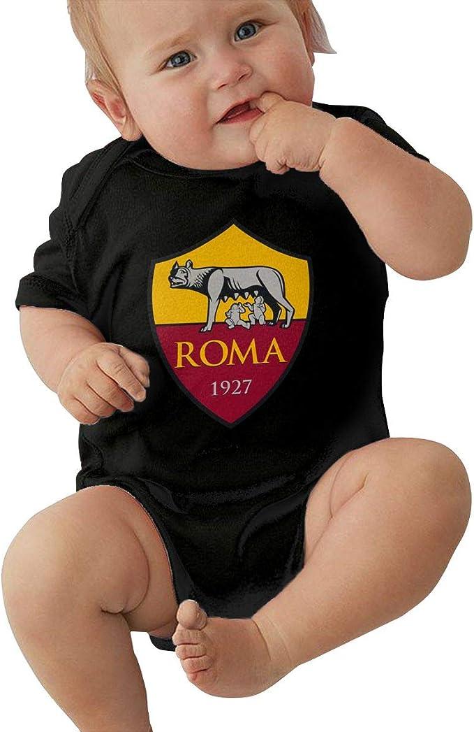 Samthune AS Roma Body Biologico Bambino 100/% Cotone Logo Bio Bambino Bimbo Body Baby Bambini Idee Regalo Body Neonato Manica Corta