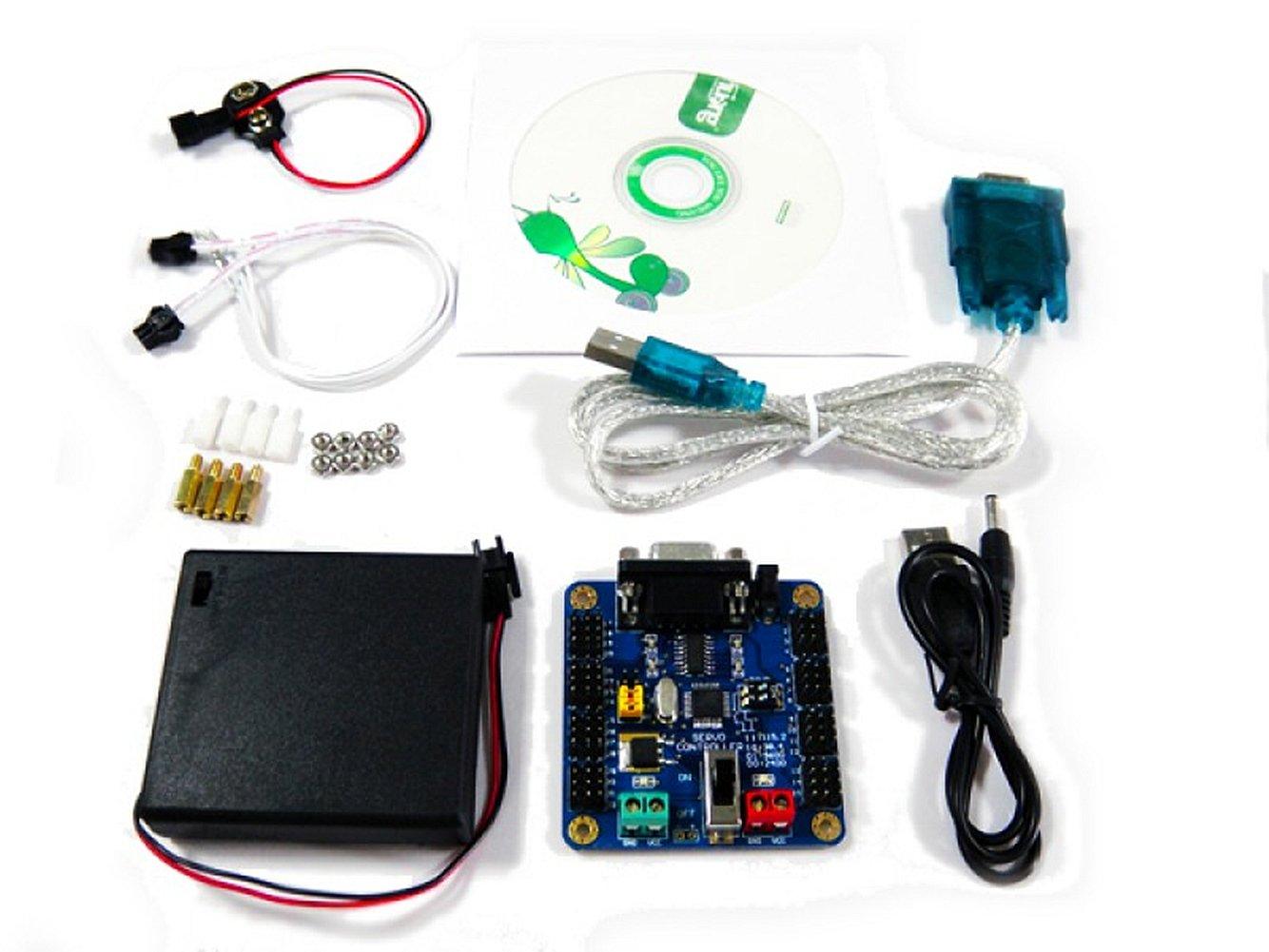 32 Channels Servo Controller Kit for Robotic Arm Biped Robot Kit